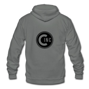 Coasters Inc. Logo - Unisex Fleece Zip Hoodie