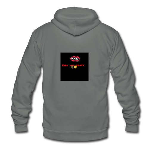 KingOfPetty approved - Unisex Fleece Zip Hoodie