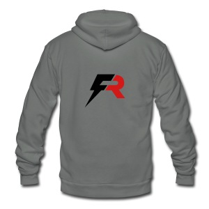 Full Ride Training Gear - Unisex Fleece Zip Hoodie
