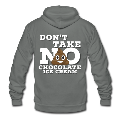 Take No S**T! - Unisex Fleece Zip Hoodie