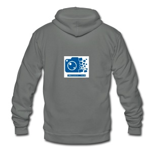 Proximity Films official logo - Unisex Fleece Zip Hoodie