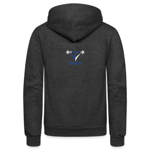 1TeamHealth - Unisex Fleece Zip Hoodie