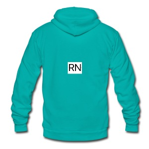 RN_Logo_small - Unisex Fleece Zip Hoodie