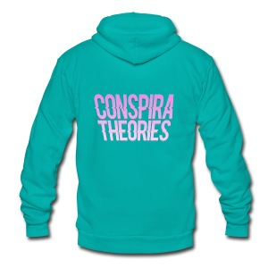 Women's - ConspiraTheories Official T-Shirt - Unisex Fleece Zip Hoodie