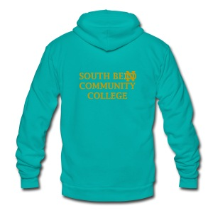 Notre Dame Community College - Unisex Fleece Zip Hoodie