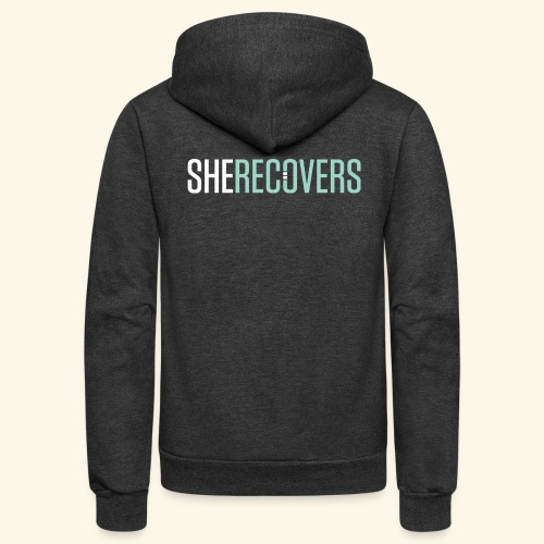 She Recovers - Unisex Fleece Zip Hoodie