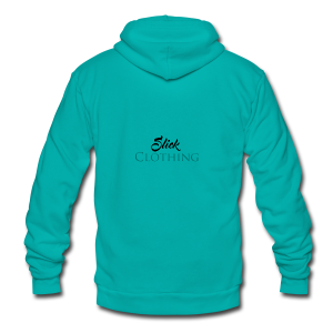Slick Clothing - Unisex Fleece Zip Hoodie