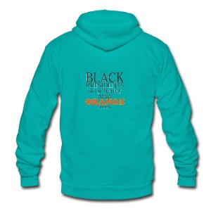black presidents do it better - Unisex Fleece Zip Hoodie