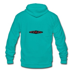 Fuls graffiti clothing - Unisex Fleece Zip Hoodie by American Apparel