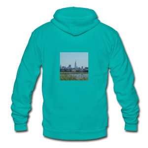 New York - Unisex Fleece Zip Hoodie