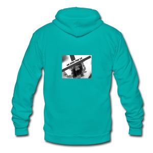 He died for us - Unisex Fleece Zip Hoodie