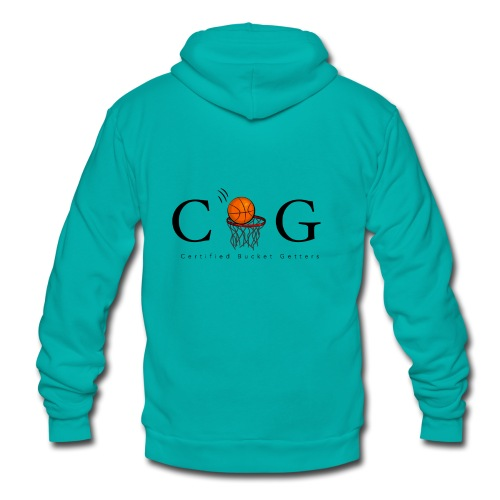 CBG Ballers clothing - Unisex Fleece Zip Hoodie