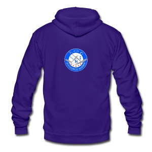 Successful Barber Seal - Unisex Fleece Zip Hoodie by American Apparel