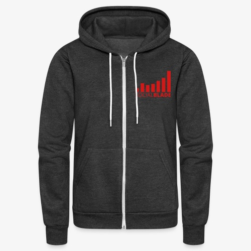 Small Logo - Unisex Fleece Zip Hoodie