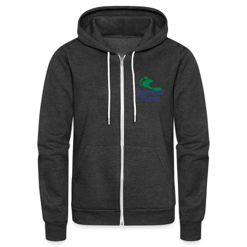 Get Out & Run Barefoot Women's T-Shirts - Unisex Fleece Zip Hoodie