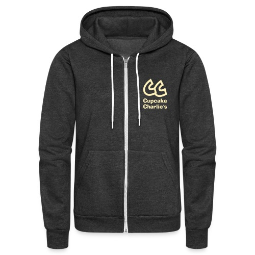 cc name2 smaller01 - Unisex Fleece Zip Hoodie