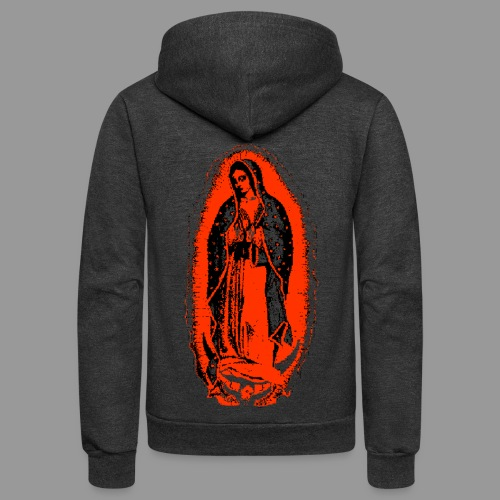 Mary's Glow - Unisex Fleece Zip Hoodie