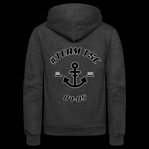 TSC Nautical - Unisex Fleece Zip Hoodie