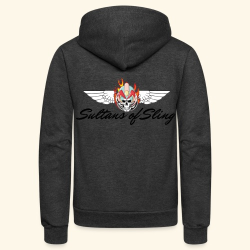 Sultans of Sling Shirt Logo - Unisex Fleece Zip Hoodie