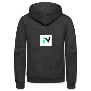 Isaac Velarde merch - Unisex Fleece Zip Hoodie