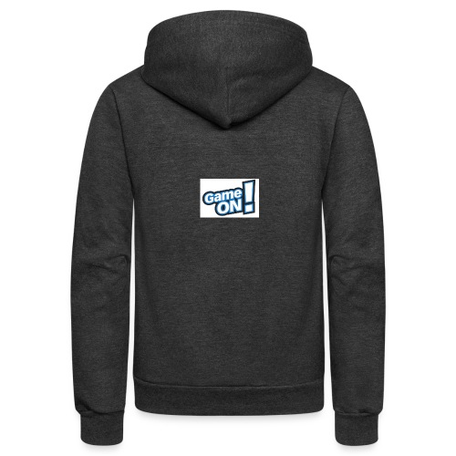 game on - Unisex Fleece Zip Hoodie