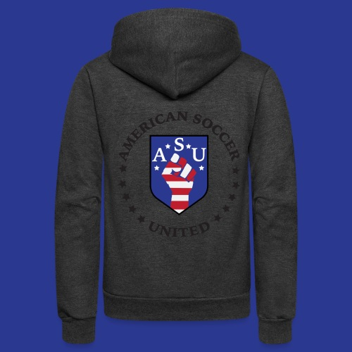 American Soccer United - Unisex Fleece Zip Hoodie