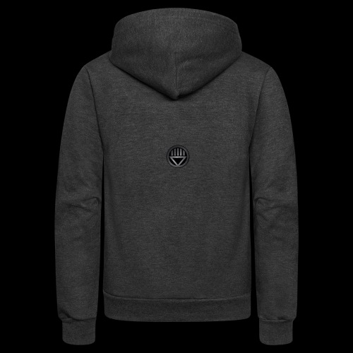 Knight654 Logo - Unisex Fleece Zip Hoodie