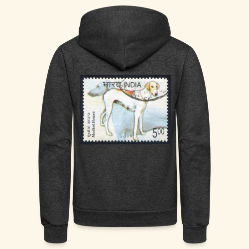 India - Mudhol Hound - Unisex Fleece Zip Hoodie