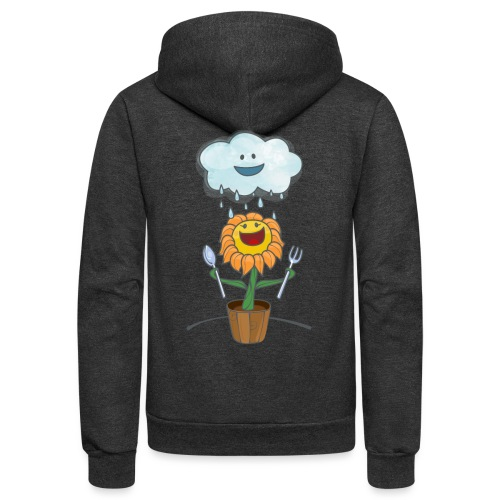 Cloud & Flower - Best friends forever - Unisex Fleece Zip Hoodie