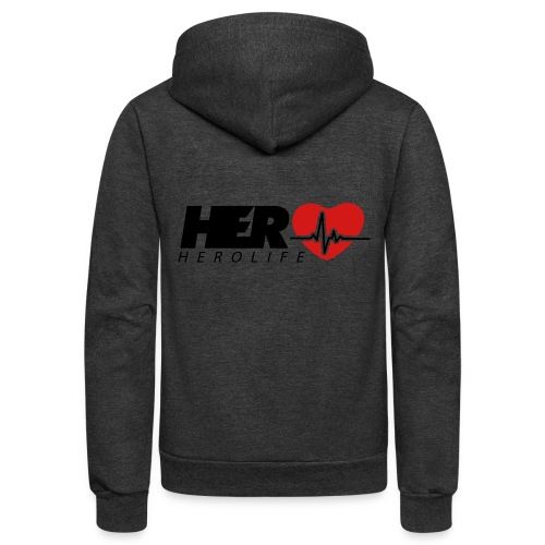 HeroLife Lifeline - Unisex Fleece Zip Hoodie