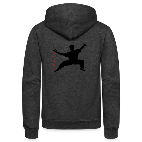 Martial arts such as MMA, Brazilian BJJ MMA Life - Unisex Fleece Zip Hoodie