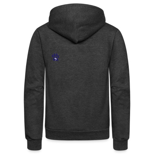 cubs official logo - Unisex Fleece Zip Hoodie
