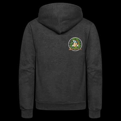 Archigantegou Logo Color - Unisex Fleece Zip Hoodie