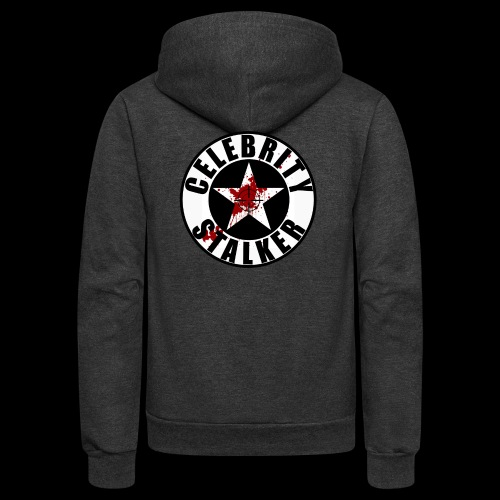 Bloody Circle Logo - Unisex Fleece Zip Hoodie