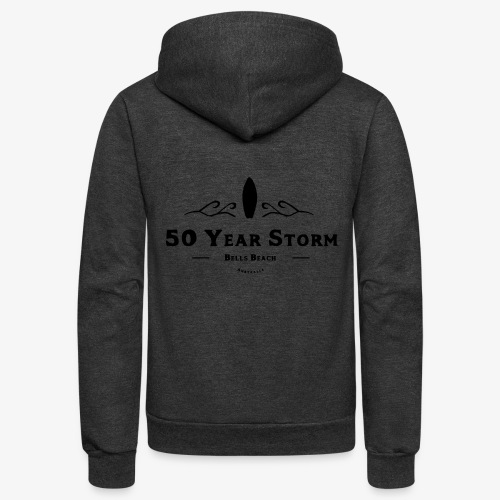 50 Year Storm - Unisex Fleece Zip Hoodie