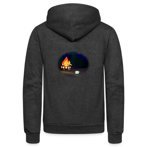 'Round the Campfire - Unisex Fleece Zip Hoodie