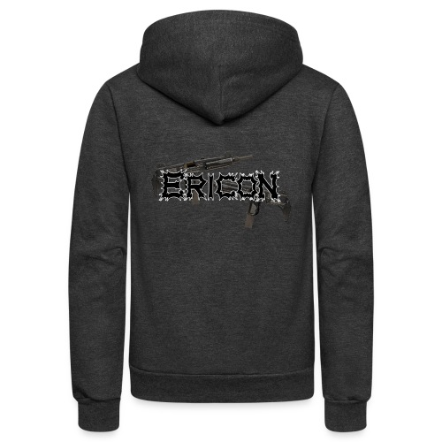 Ericon Beats Uzi Logo - Unisex Fleece Zip Hoodie