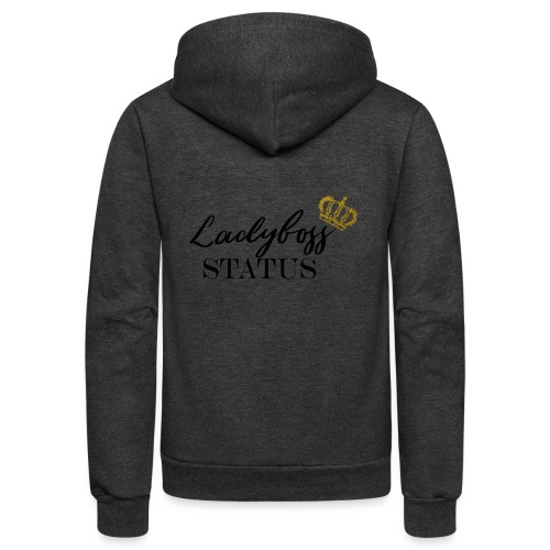 Lady Boss Status - Unisex Fleece Zip Hoodie