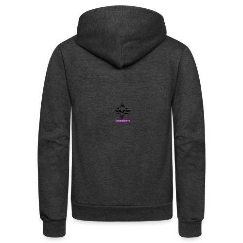 ChromoSpuffy Merch - Unisex Fleece Zip Hoodie