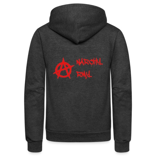 Anarchy Army LOGO - Unisex Fleece Zip Hoodie