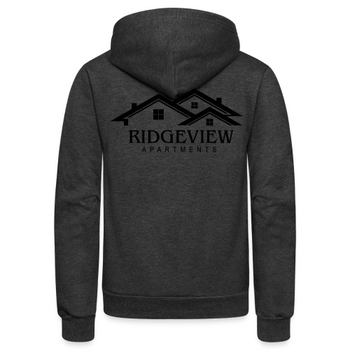 Ridgeview Apartments - Unisex Fleece Zip Hoodie