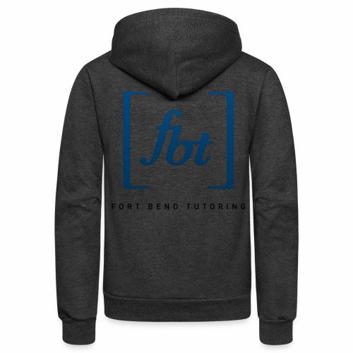 Fort Bend Tutoring Logo [fbt] - Unisex Fleece Zip Hoodie