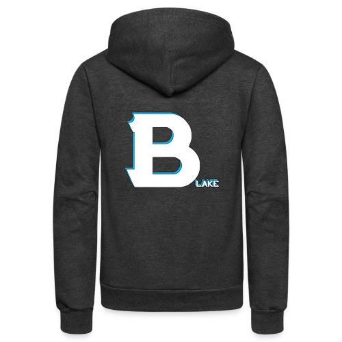 Blake Official Merch - Unisex Fleece Zip Hoodie