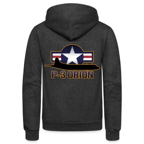P-3 Orion - Unisex Fleece Zip Hoodie