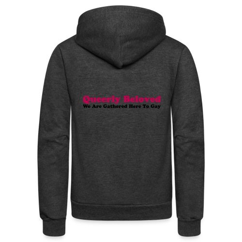 Queerly Beloved - Mug - Unisex Fleece Zip Hoodie