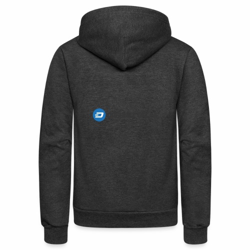 dashnet online dark - Unisex Fleece Zip Hoodie