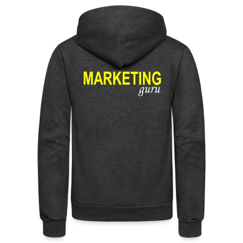 Marketing Guru - Unisex Fleece Zip Hoodie