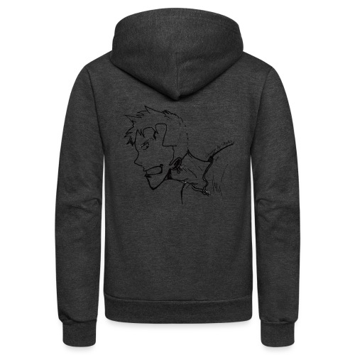 Design by Daka - Unisex Fleece Zip Hoodie