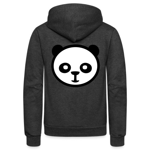 Panda bear, Big panda, Giant panda, Bamboo bear - Unisex Fleece Zip Hoodie
