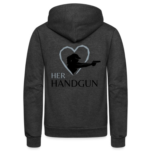 Official HerHandgun Logo - Unisex Fleece Zip Hoodie